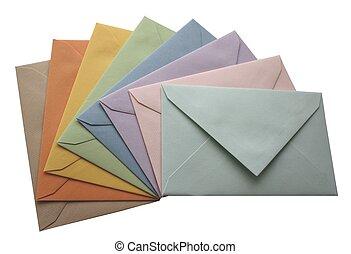 barwny, koperty