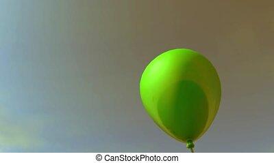 barwny, partia, tło, zabawa, grono, celebration., balony