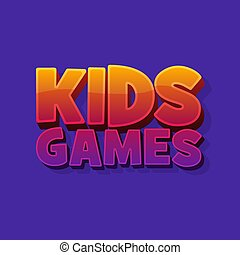 barwny, room., dzieciaki, jasny, wypowiedzieć grę, działalność, tło, graficzny, zabawny, wektor, wolny czas, igrzyska, dzieci, rysunek, poznaczcie., style., 3d