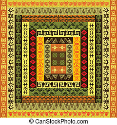 barwny, struktura, etniczny