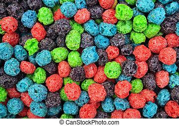 barwny, zboże