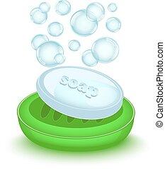 barzinhos, bolhas, sabonetes