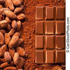 barzinhos, chocolate