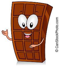barzinhos, gesto, chocolate