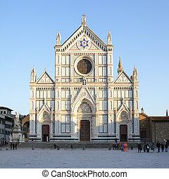 basílica, croce, santa