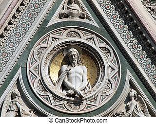 basílica, de, santa maria del fiore, -, florença