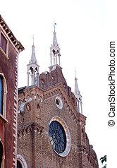 basílica, di, santa maría, gloriosa, dei, frari, venecia