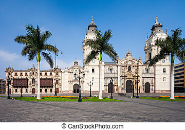basílica, lima, catedral