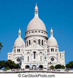 basílica, parís, sacre-coeur