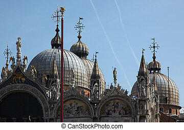 basílica, venecia, santo, marcas