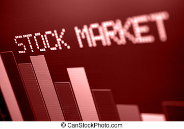 bas, marché, stockage