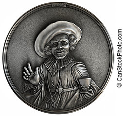 Bas-relief The Jolly Drinker