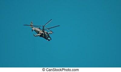 bas, vert, coloration, combat, hélicoptère volant,...