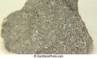 Basalt Clear Shot - A clear video shot of basalt from...