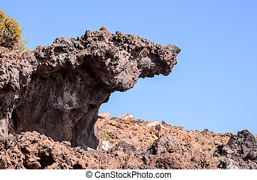 Basaltic Lava Formation
