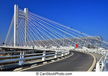basarab, 天橋, brigde, 在, bucharest, 羅馬尼亞