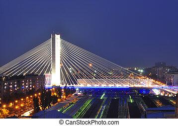 Basarab bridge, Bucharest, Romania