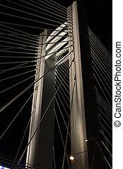Basarab Bridge high pillars