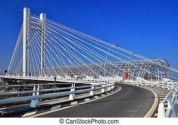 Basarab Overpass brigde in Bucharest, Romania - The Basarab...