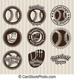 base-ball, cachets