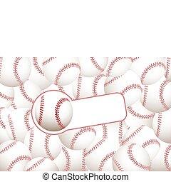 base-ball, fond