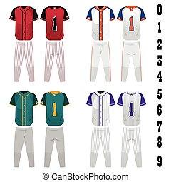 base-ball, jersey
