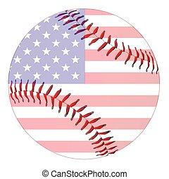 base-ball, raies étoiles
