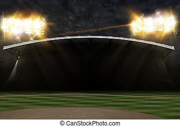 base-ball, stade