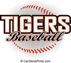 base-ball, tigres, conception