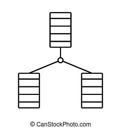 base dados, ícone