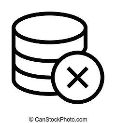 base de datos, borrar