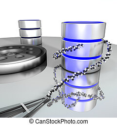 base données, storage.