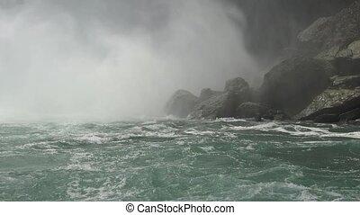 Base of Water Falls
