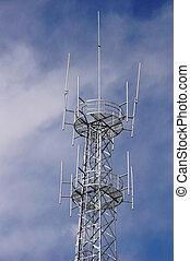 Base station antennas tower