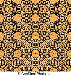 baseado, islamic, cartão, indianas, papel parede, seamless, otomano, saudação, árabe, print., oriental, asiático, convite, ornate, azulejo, motifs., folheto, mandala, ou, cartão, retro