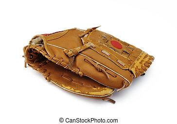 basebal navléknout si rukavici