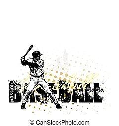 baseball 2 - sketching of the baseball in the vectors