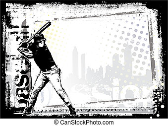 baseball 4 - baseball poster background