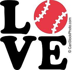 baseball, amore
