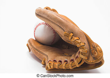 Baseball and Baseball Glove
