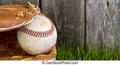 Baseball and Glove.