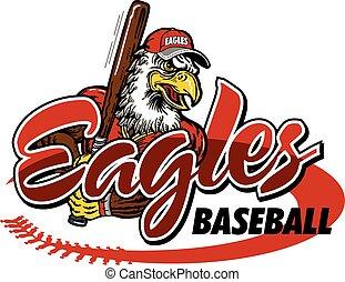 baseball, aquile