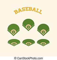 baseball badge label logo template