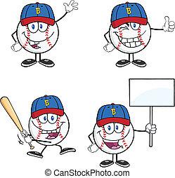 Baseball Ball 2 Collection Set