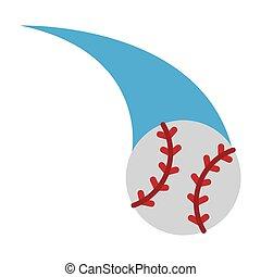Baseball ball cartoon