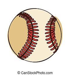 baseball ball icon image
