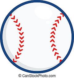 Baseball Ball Illustration. Illustration Isolated on white