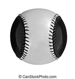 baseball ball on a white background
