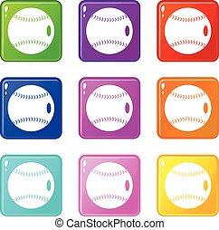 Baseball ball set 9
