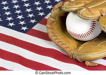 baseball, bandiera